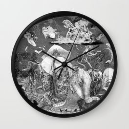 The constellation erotique 3555 Wall Clock