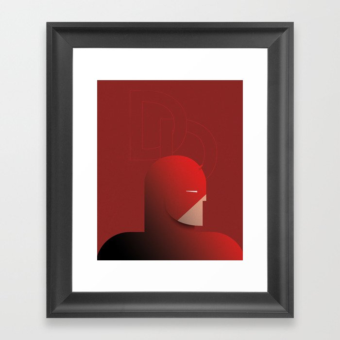 CASSANDRE SPIRIT - DareDevil Framed Art Print