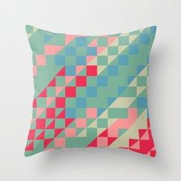 HIP triangles Throw Pillow