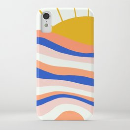 sunrise surf iPhone Case