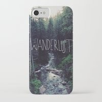 marina and the diamonds iPhone & iPod Cases featuring Wanderlust: Rainier Creek by Leah Flores