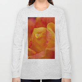 macro rose Long Sleeve T-shirt