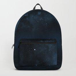 Universe & Ocean -   Space - Night Sky - Stars - Ocean - Night Backpack