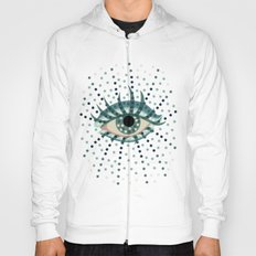 Dots And Abstract Eye Hoody