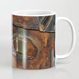 Steam-punk Vintage Steamer-trunk Handle Coffee Mug