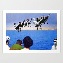 Sea, Sea. Art Print