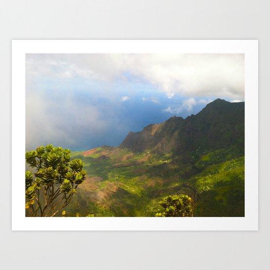 Waimea Canyon, Kauai Art Print