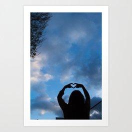 Love Thee Art Print