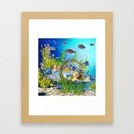 Unterwasserwelt Framed Art Print