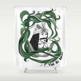 Vlad the Inhaler Shower Curtain