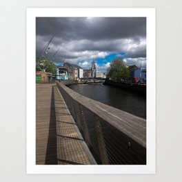Cork Town Art Print