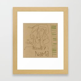 Naima Framed Art Print