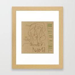 Naima Framed Art Print