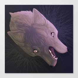 Two head wolf Canvas Print