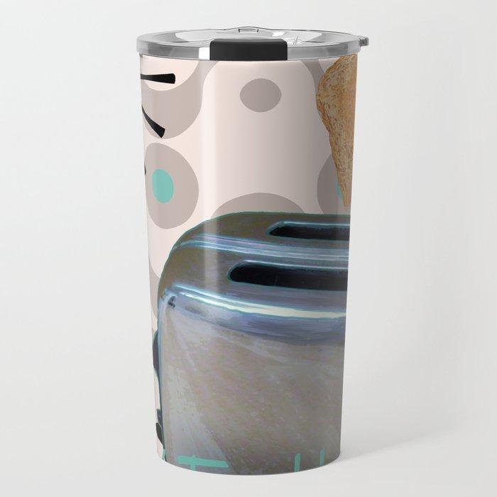 Fifties Kitchen Toaster Travel Mug