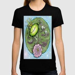Frog Prince on His Lily Pad T-shirt
