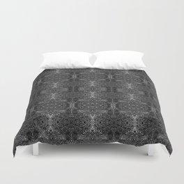 zakiaz blk&gray abstract design Duvet Cover