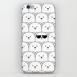 That Cool Polar Bear iPhone Skin