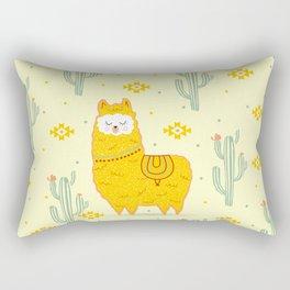 Alpaca summer Rectangular Pillow