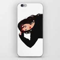 charli xcx iPhone & iPod Skins featuring Charli XCX by BUGS