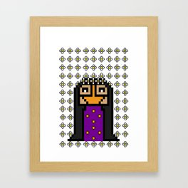 Hamad Belly Framed Art Print