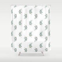 Fern pattern Shower Curtain