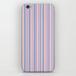Pantone Rose Quartz over Serenity iPhone Skin