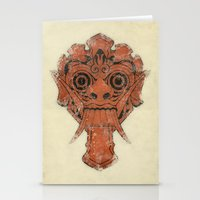 majoras mask Stationery Cards featuring Mask by Guilherme Rosa // Velvia