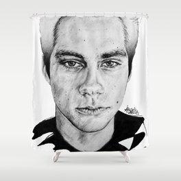 Dylan O'Brien / Void Stiles Shower Curtain