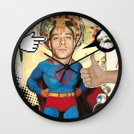 COLLAGE: SuperFibra Wall Clock