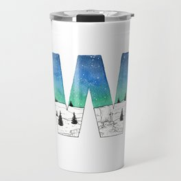 Galaxy Alphabet Series: W Travel Mug