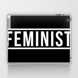 Feminist Black Laptop & iPad Skin