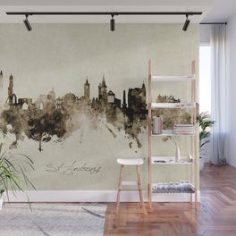 St Andrews Scotland Skyline Wall Mural