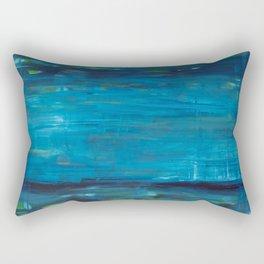 blue vertical Rectangular Pillow