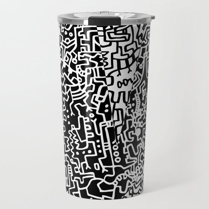 Cell Art Travel Mug