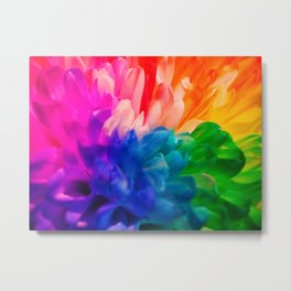 Rainbow Flower #2 Metal Print