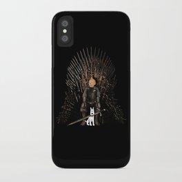 White Hound iPhone Case