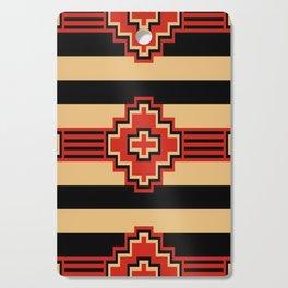 Aztec Geometric Cutting Board