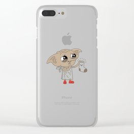 Free Elf Clear iPhone Case