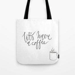 Coffee maniac. Tote Bag