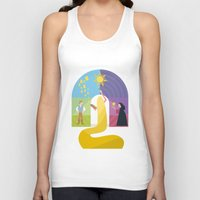 rapunzel Tank Tops featuring Rapunzel by Rob Yeo Design