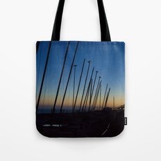 Boats in The Night Tote Bag
