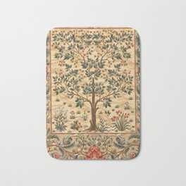 "William Morris ""Tree of life"" 3. Bath Mat"