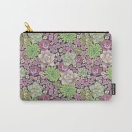 Succulent Spring Carry-All Pouch