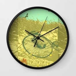 LAZY DAY RIDE Wall Clock
