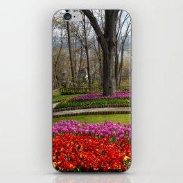 tulip park and bosphorus iPhone Skin