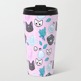 Herb Witch // Pink Travel Mug