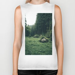 Forest Field - Landscape Photography Biker Tank