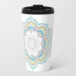 Pastel Mandala Travel Mug