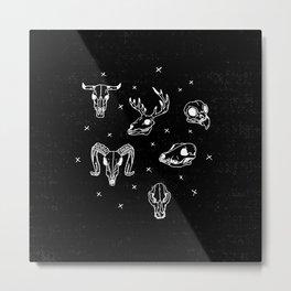 TREASURES Metal Print